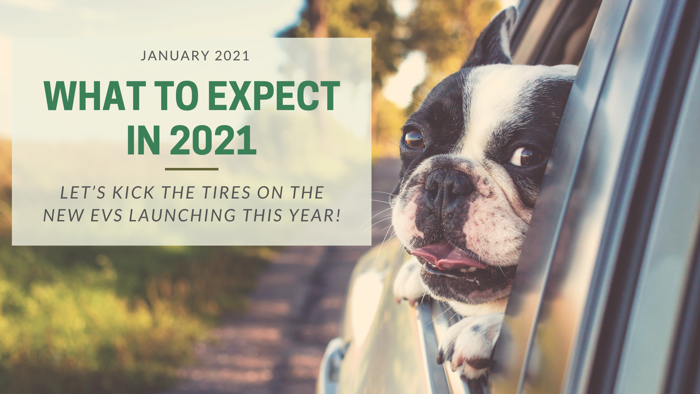 What to Expect In 2021: Let's Kick the Tires on the New EVs Launching this Year!
